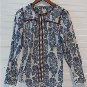 J. Crew long sleeve top size medium